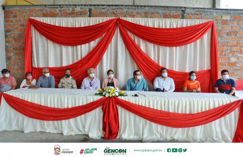 Inauguración del Centro Mayorista del Sur de Manabí