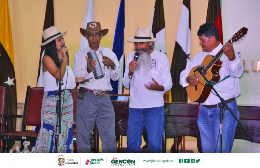 Inicio del Festival de Arte y Cultura por la Independencia de Jipijapa